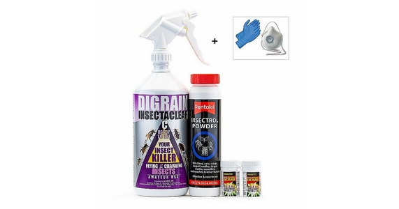 Carpet Moth & Carpet Beetle Control Kit 1