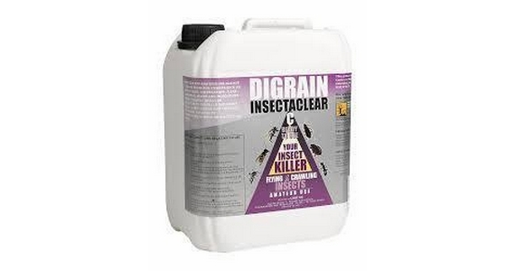 Digrain Insectaclear C Clothes Moth Killing Insecticide 5ltr