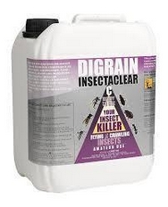 Digrain Insectaclear C Carpet Moth Killing Insecticide 5 Litres