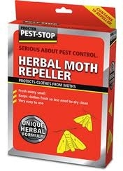 Herbal Clothes Moth Repellent Sachets x 10
