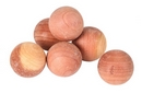 Red Cedar Wood Clothes Moth Repeller Balls x 24