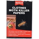 Clothes Moth Killer Strips - Twin Pack
